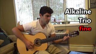 Alkaline Trio - Fine (Acoustic Cover)