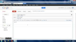 how to send a email with google