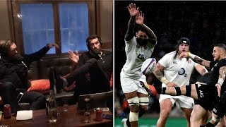 The Rugby Pod discuss England's disallowed try vs New Zealand