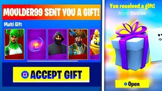 How To GIFT Skins In Fortnite Season 8! GIFTING Has Returned!