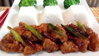 How To Make General Tso's Chicken-asian Food Recipes