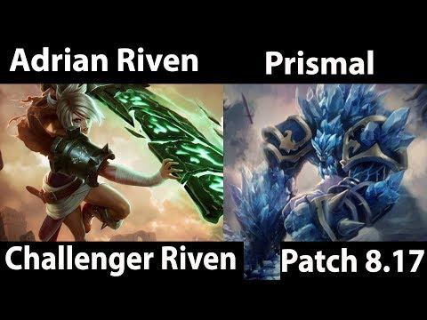 [ Adrian Riven ] Riven vs Malphite [ Prismal ] Top  - Adrain Riven Gamplay