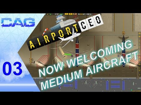 Lets play: Airport CEO || EP03 || Everything open for medium aircraft?