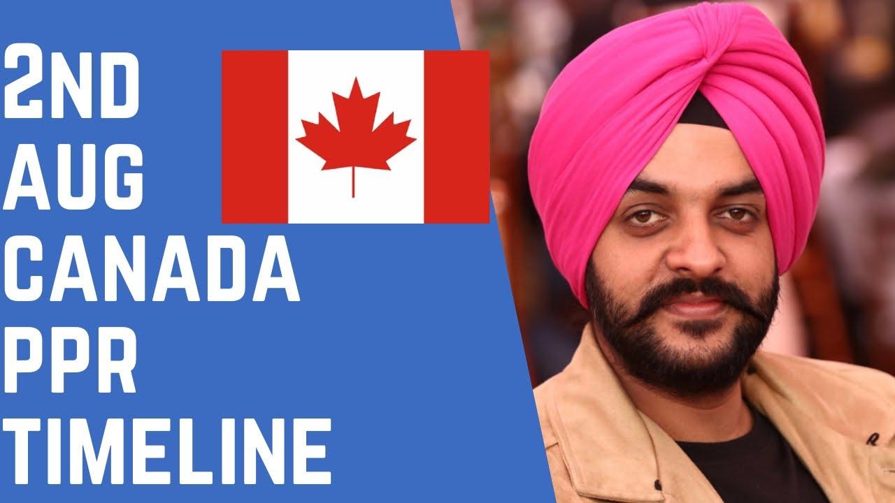 2nd AUG PPR   PPR Request Canada   Canada PPR   Navpreet Singh