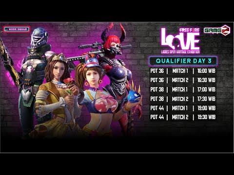 TOURNAMENT GAMEZ LOVE | QUALIFIER DAY 3