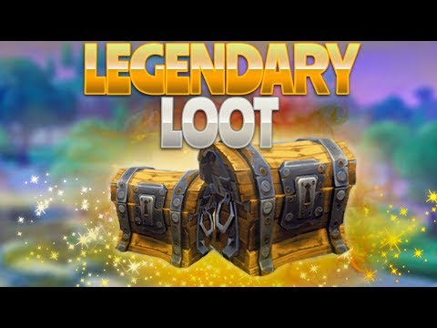 LEGENDARY LOOT (Fortnite Battle Royale)