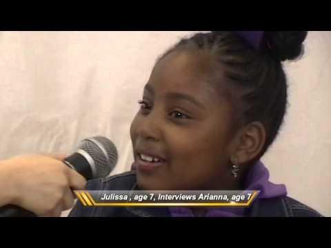 Julissa, age 7, interviews Arianna, age 7