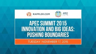 LIVE: APEC SME Summit 2015