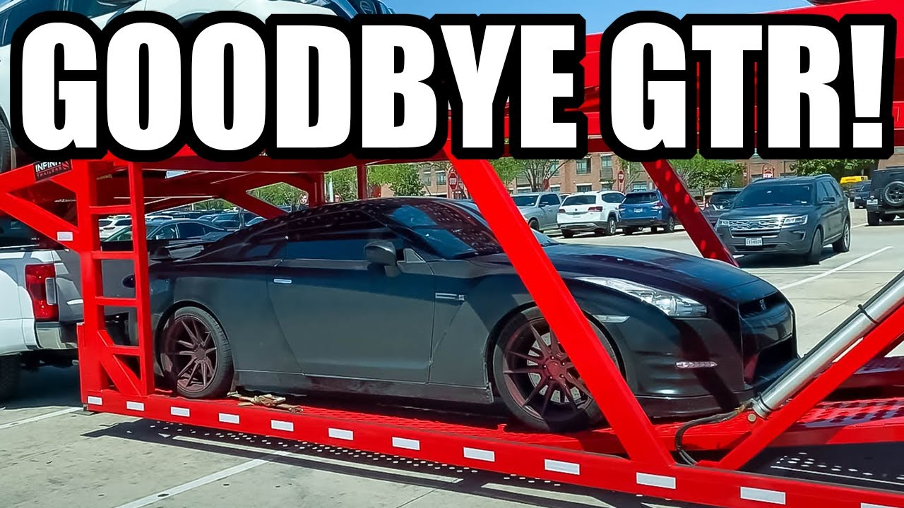 FINAL GOODBYE TO MY NISSAN GTR! (Off to OHIO She Goes!)