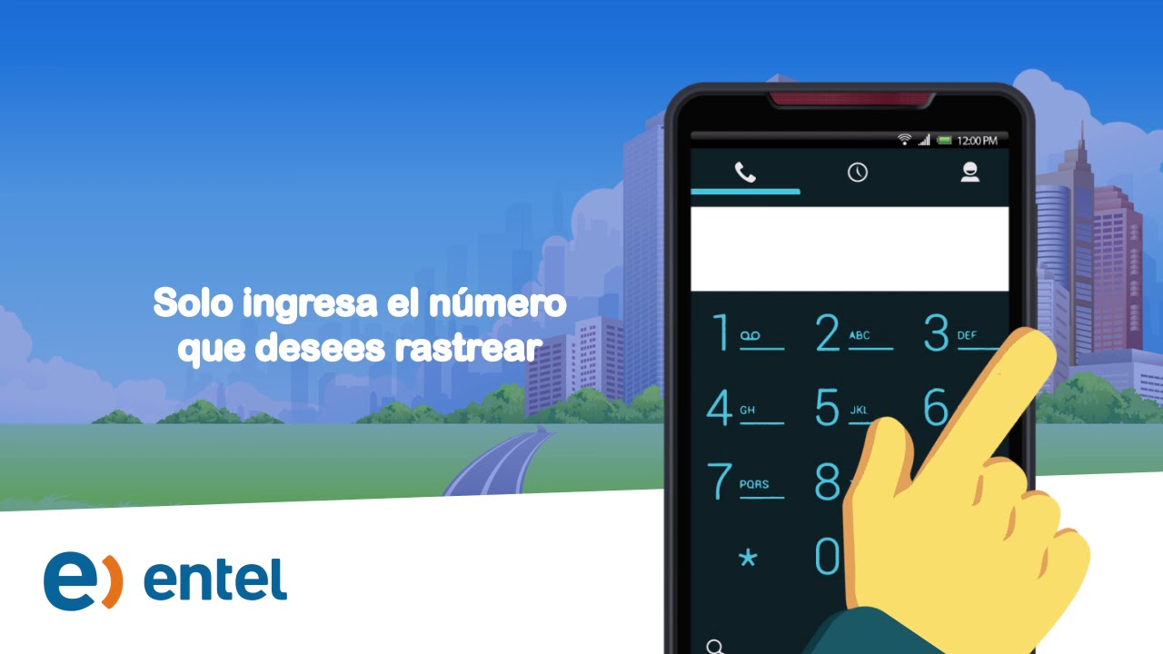 rastreador de celulares entel