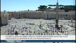 La Santa Sede no sabe cuánto tiempo podrá ocultar que existen los homosexuales | El Mundo Today 24H