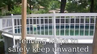 Video Above Ground Pool Safety Fence download MP3, 3GP, MP4, WEBM, AVI, FLV Agustus 2018