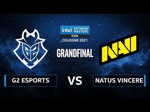 G2 Esports vs. Natus Vincere [Dust2] Map 1 - IEM Cologne 2021 - Grand Final