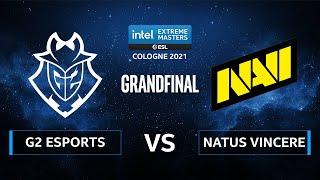 CS:GO - G2 Esports vs. Natus Vincere [Dust2] Map 1 - IEM Cologne 2021 - Grand Final