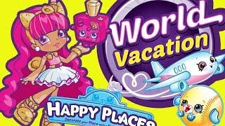 Shopkins Happy Places • Światowe wakacje • Niespodzianki