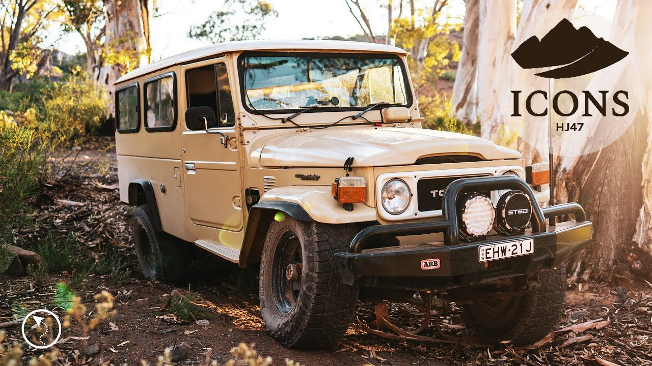 ICONS - HJ47 Land Cruiser In The Flinders Ranges South Australia