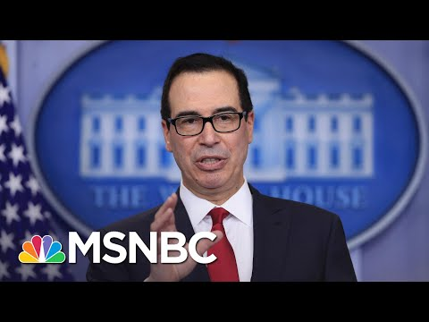 Mnuchin Reportedly Blending Final Days In Office Into Personal Moneymaking Venture   Rachel Maddow