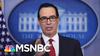 Mnuchin Reportedly Blending Final Days In Office Into Personal Moneymaking Venture | Rachel Maddow