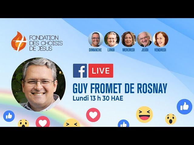 Facebook Live quotidien 28/09/2020 - Le lâcher prise