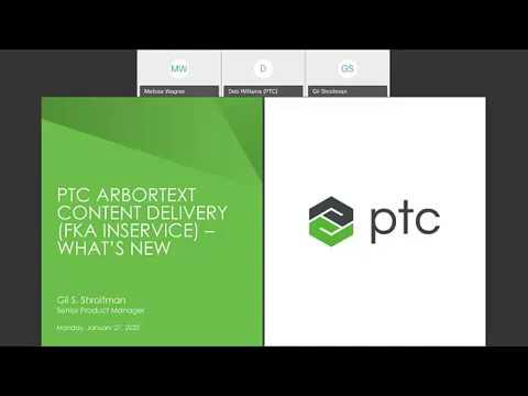 What's New with Arbortext Content Delivery, January 2020