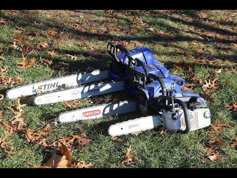 Field Testing the Chinese Holzfforma Chainsaws