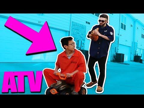 COP STEALS MY ATV!! (Roblox Jailbreak IRL)