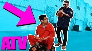 COP STEALS MY ATV!! (Roblox Jailbreak IRL)