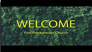 Sunday Service - August 15, 2021