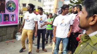 Ntr fans hungama at urvashi theatre bangalore