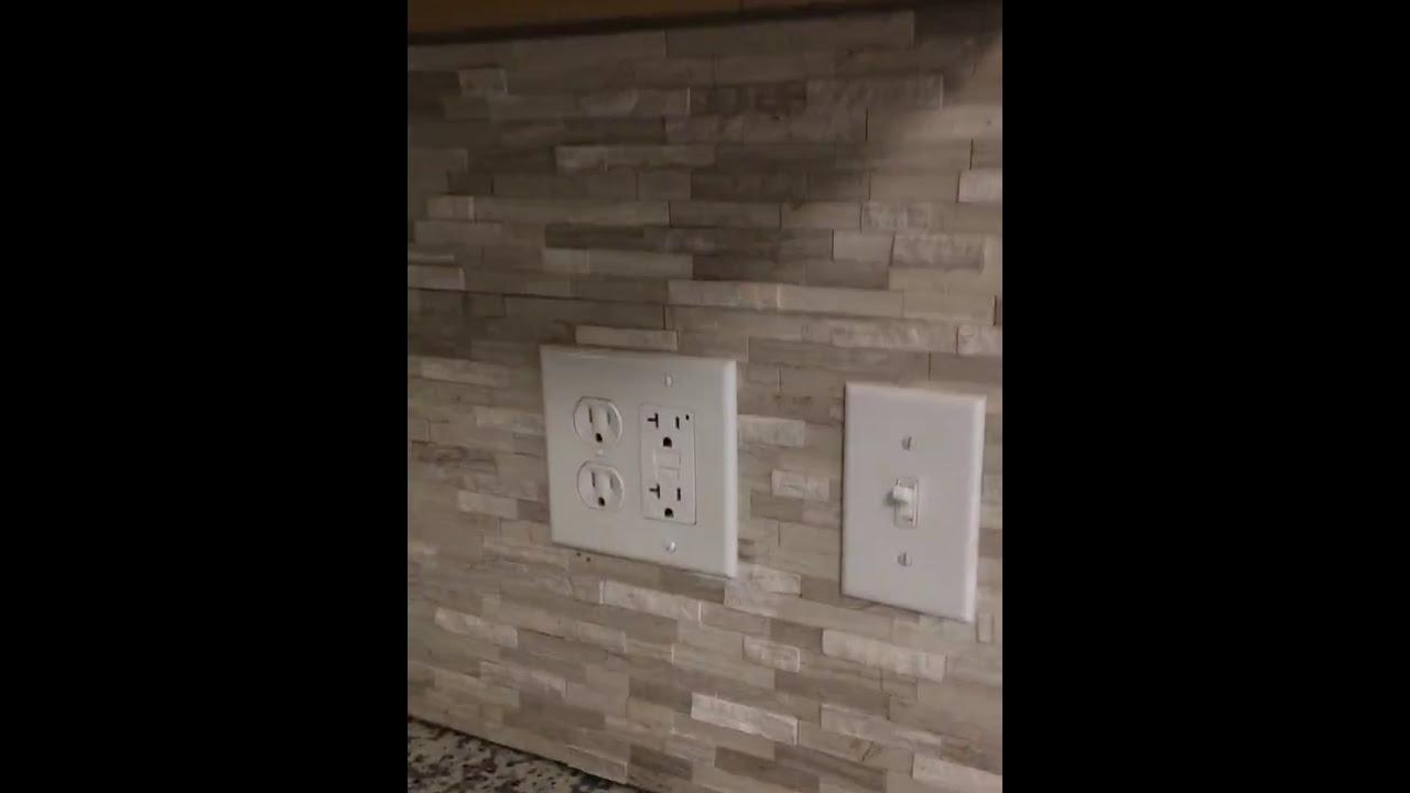 - DIY Speed Tiles Back Splash Install Final - YouTube