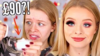 TESTING BOUJEE MAKEUP BRANDS!! SPILLING THE TEA.. THIS IS NEW! 😂| sophdoesnails