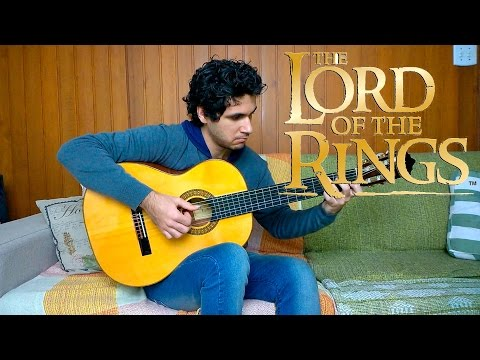 The Lord of the Rings on guitar (Bridge of Khazad Dum / Rohan Fanfare / Concerning Hobbits) #59