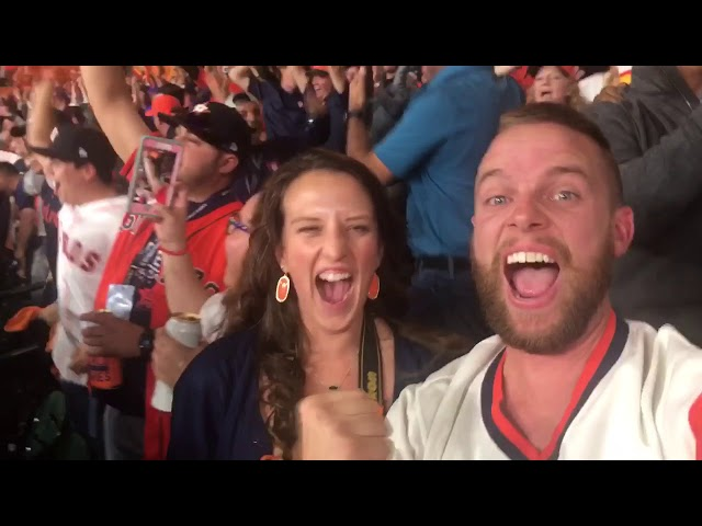 Game 5 2017 World Series Minute Maid Park