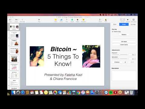 Bitcoin Webinar ~ 5 Things You Need To Know About Bitcoin With Fateha Kazi