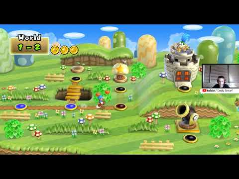 New Super Mario Bros - Gameplay Map 1 [ft. Dady Smurf]