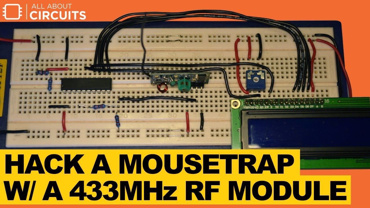 Hack a Mousetrap with a 433MHz RF Module