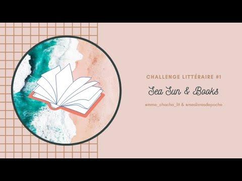 Download Challenge littéraire #1 Sea sun & books