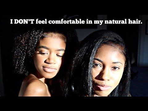 Natural Hair VS. Weave! Which is BETTER? - Get Ready With Us!