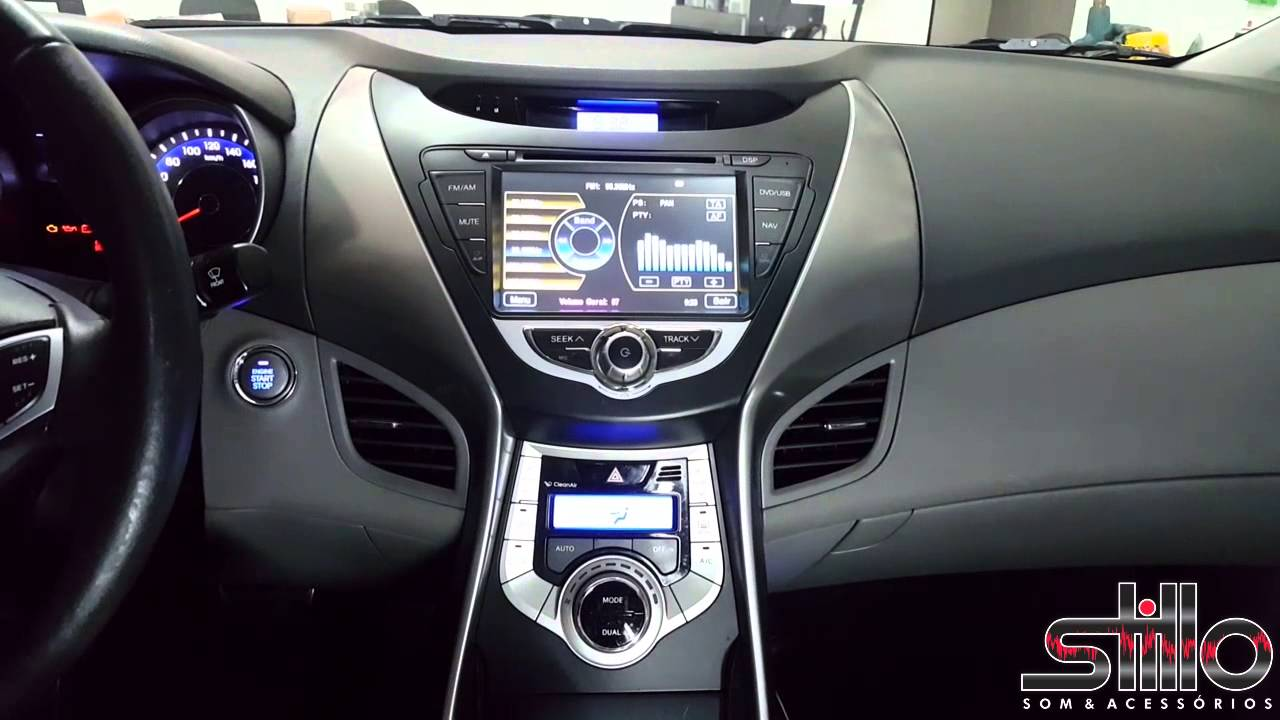Central Multimdia Caska Hyundai Elantra YouTube