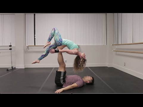 Beginner Acro Yoga: Back Bird and Variations