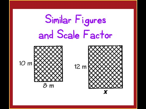 Finding Missing Length on Similar Figures using Scale Factor
