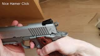Cybergun COLT 1911 RAIL GUN GBB Full Metal