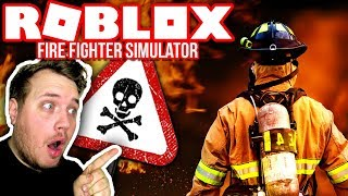 THE CITY'S BEST FIREFIGHTER! :: Firefighter Simulator-Roblox English