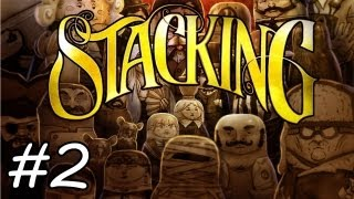 BOAT TIME!: Stacking Let's Play: Part 2 | Walkthrough | Gameplay | Commentary [HD]