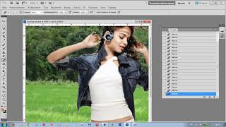 Как поменять фон на фотографии в фотошопе(Посмотрев данный видеоурок вы научитесь менять задний фон на фаших фотографиях. http://www.blogohelp.ru/kak-pomenjat-zadnij-fon-..., 2012-06-28T13:21:50.000Z)
