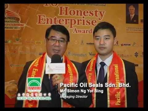Pacific Oil Seals Sdn. Bhd.- 10th Asia Pacific International Honesty Enterprise KerisAward Winners