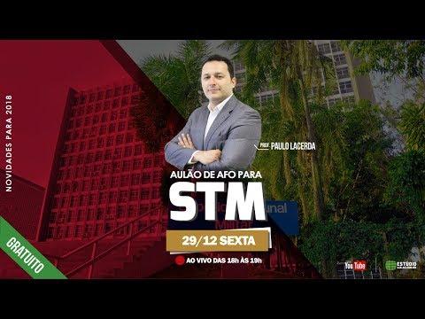 Aulão STM | AFO | Prof. Paulo Lacerda