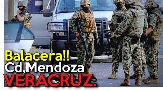 Repeat youtube video Graban Fuerte Balacera en Cd Mendoza, Veracruz