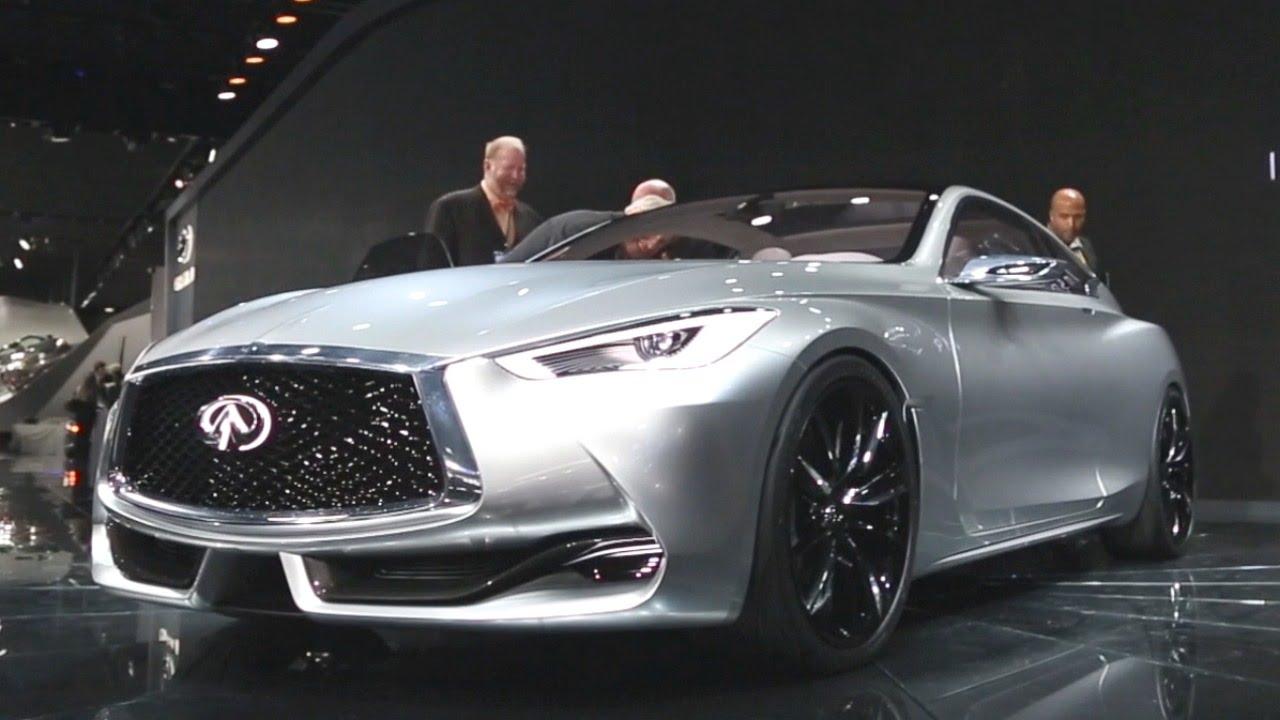 Infiniti Q60 Concept 2015 Detroit Auto Show