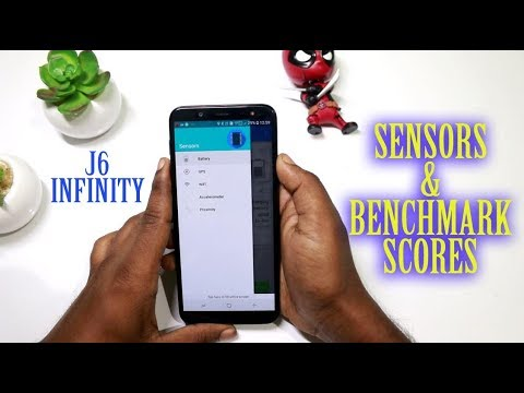 Samsung galaxy J6 Infinity Sensors and Benchmark